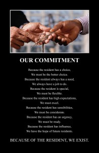 Residents Our Commitment