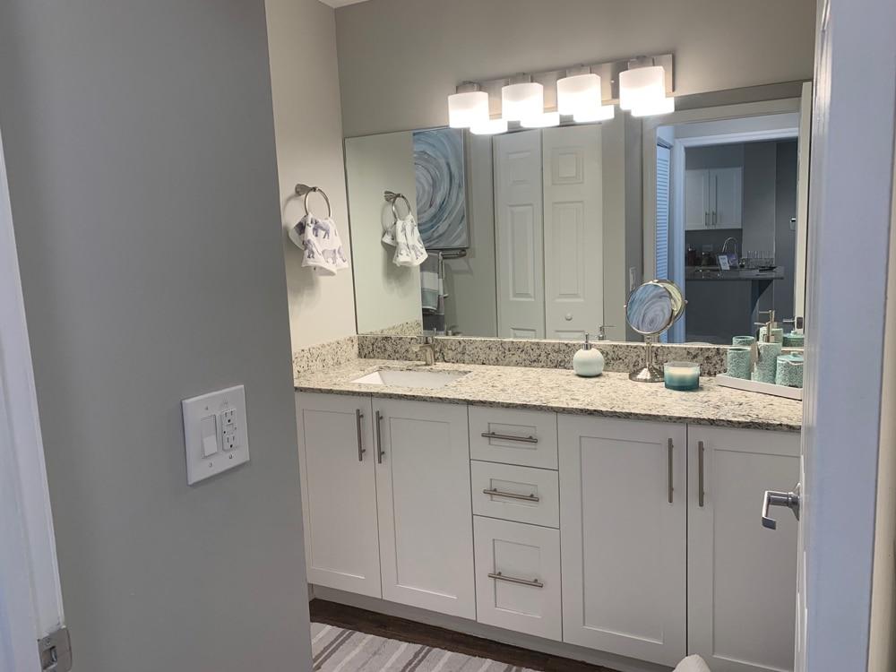 modern large bathroom