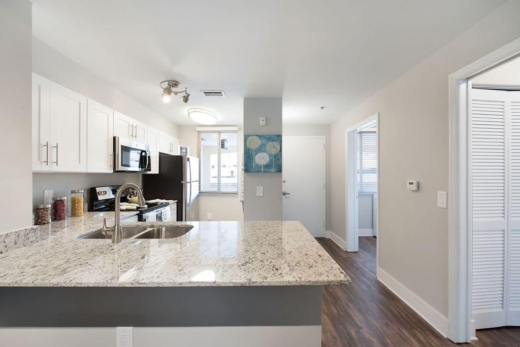 modern kitchen counter tops