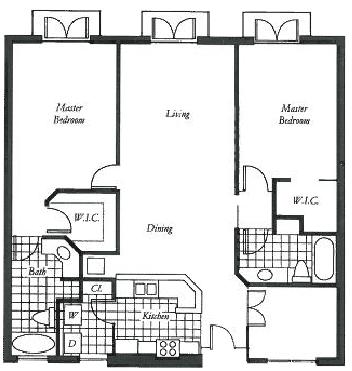 Clematis floor plan